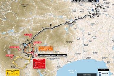 獲得標高4,865mの難関、東京オリンピックのロードレースコース発表