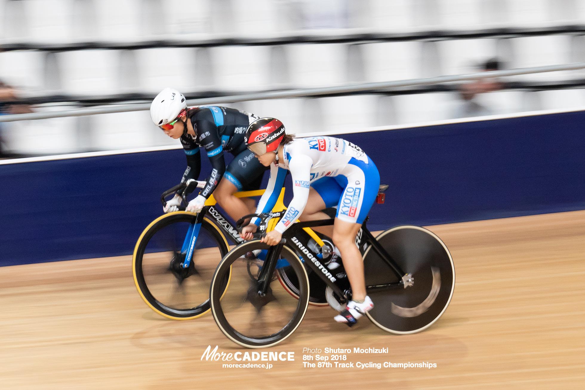 2018全日本選手権トラック女子スプリント