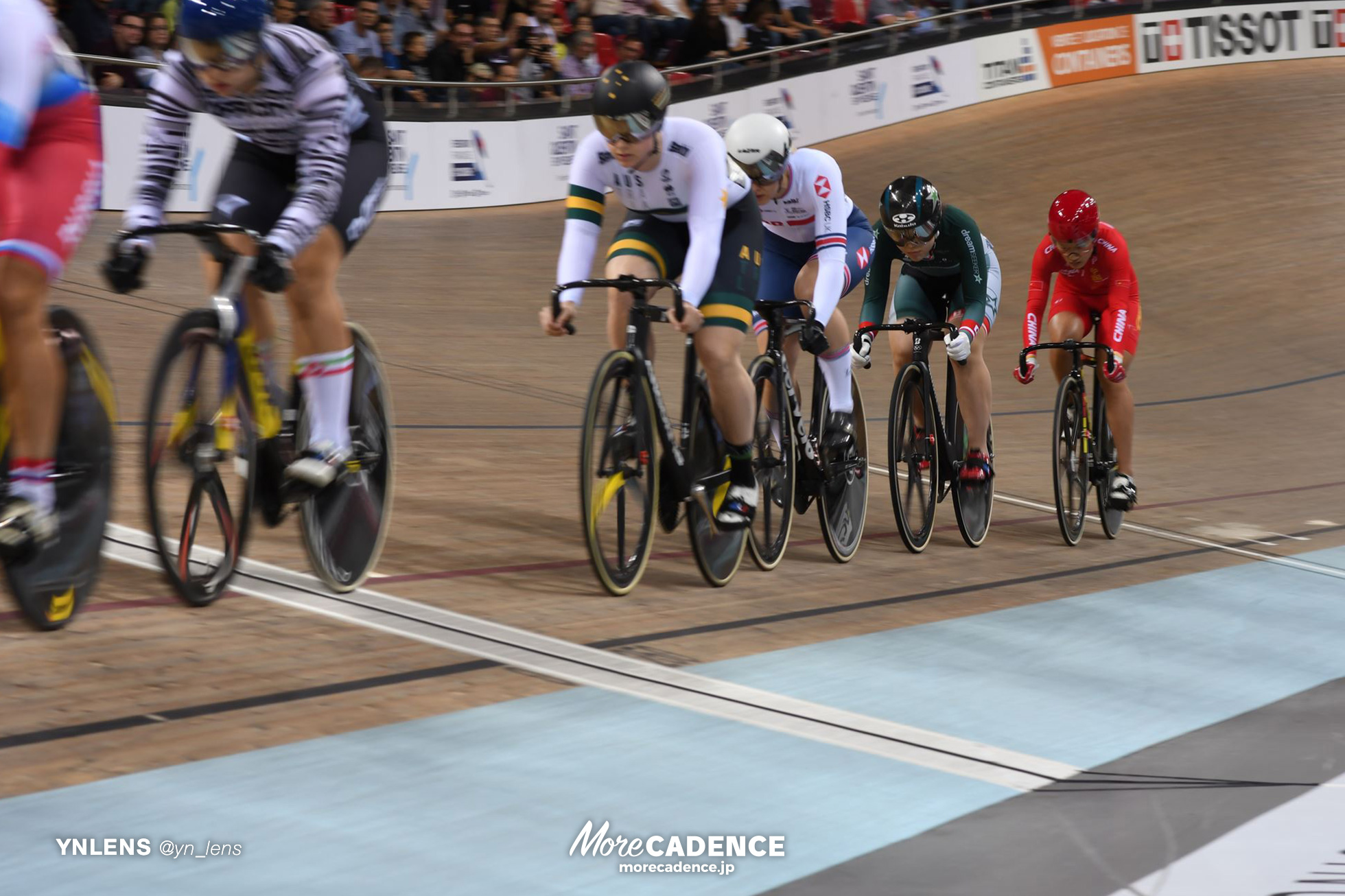2018-2019 TRACK CYCLING WORLD CUP I Women's Keirin