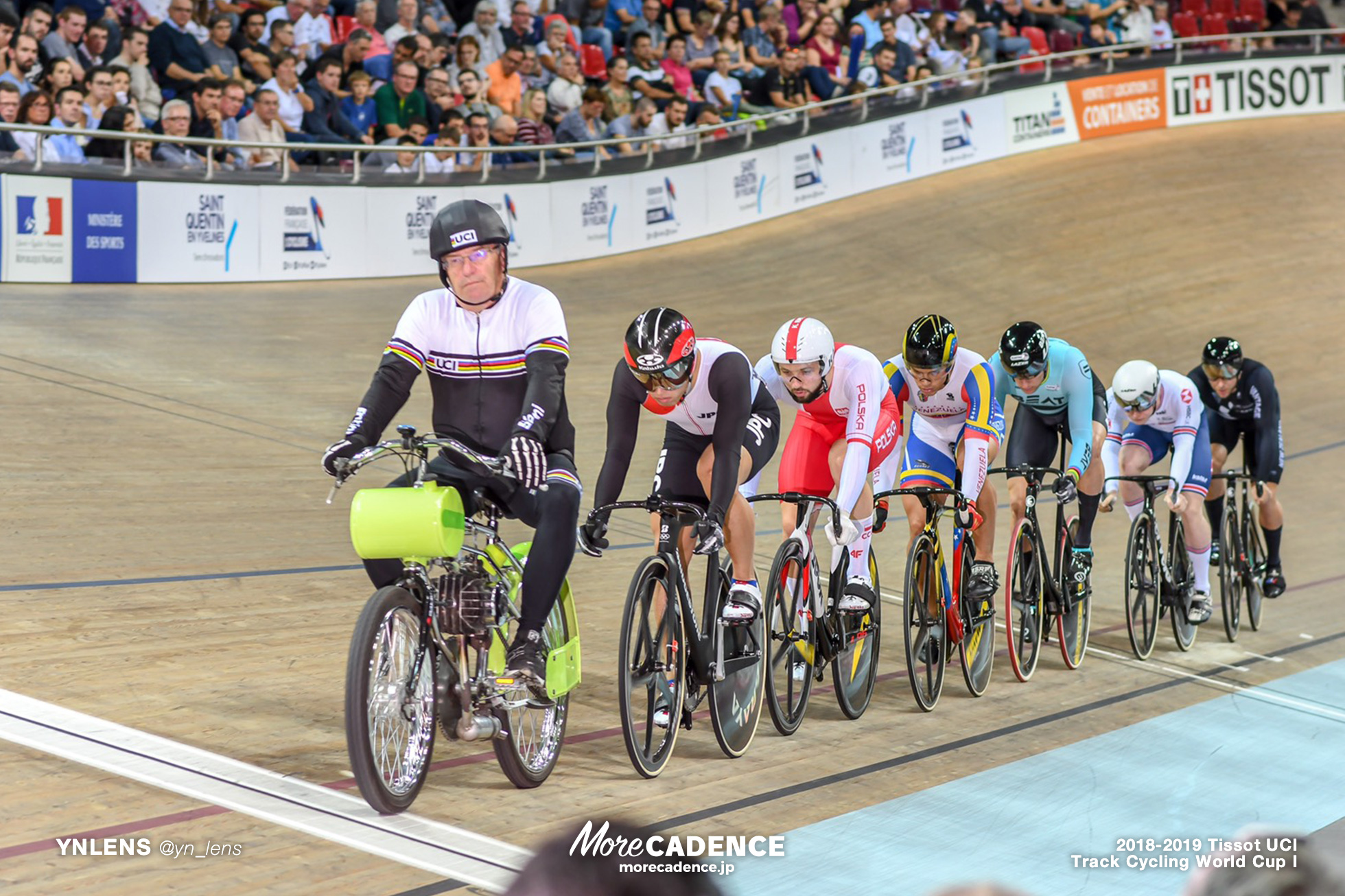 2018-2019 TRACK CYCLING WORLD CUP I Men's KEIRIN