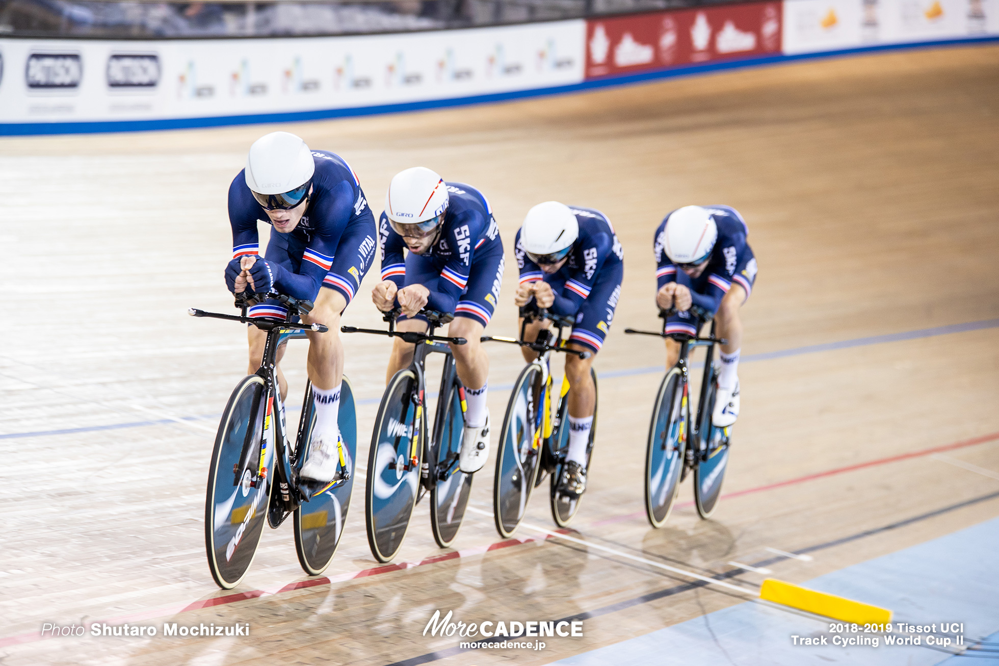 2018-2019 Tissot UCI Track Cycling World Cup II Men's Team Pursuit