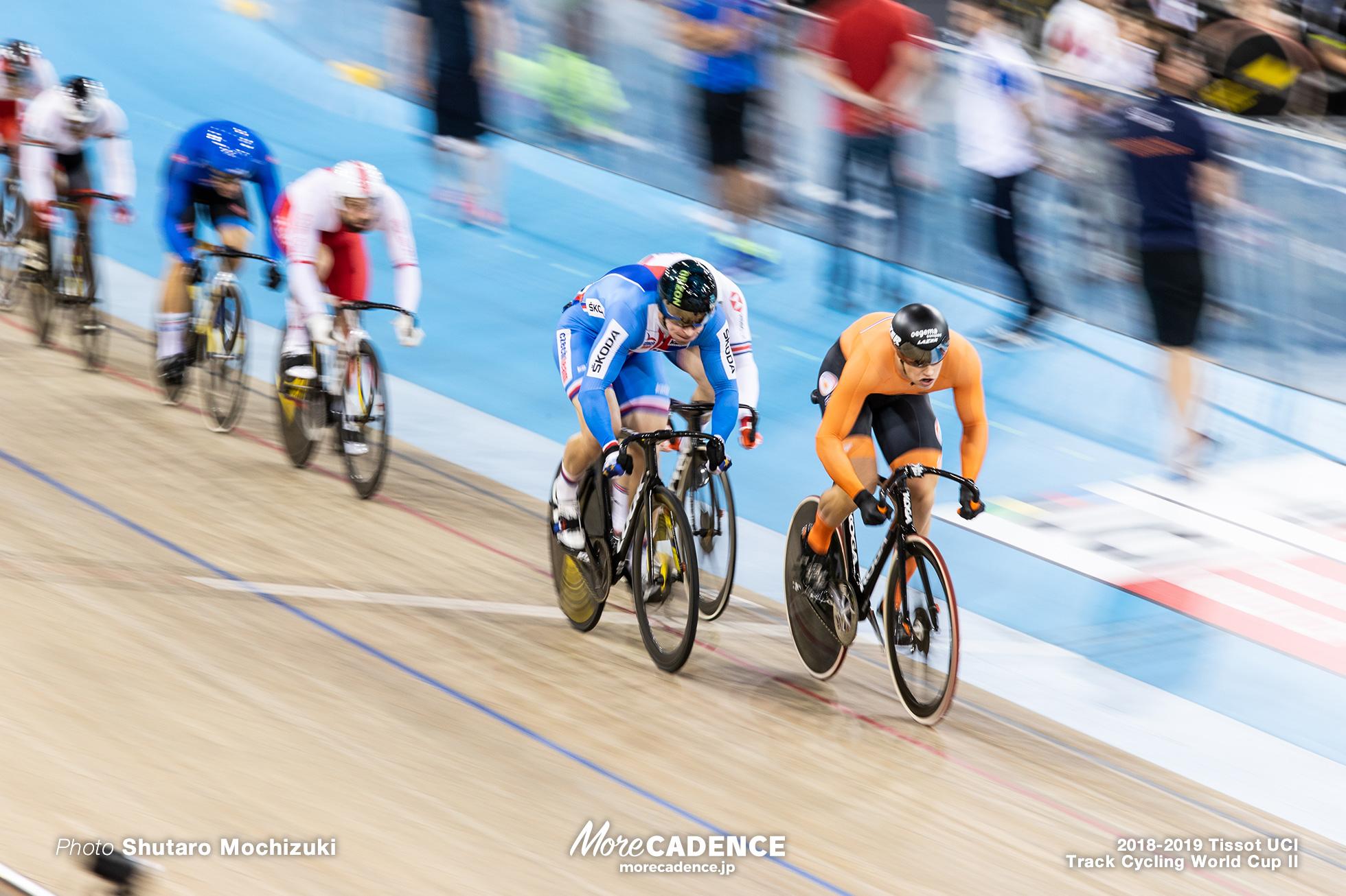 2018-2019 Tissot UCI Track Cycling World Cup II Men's Keirin Qualifying Heat2
