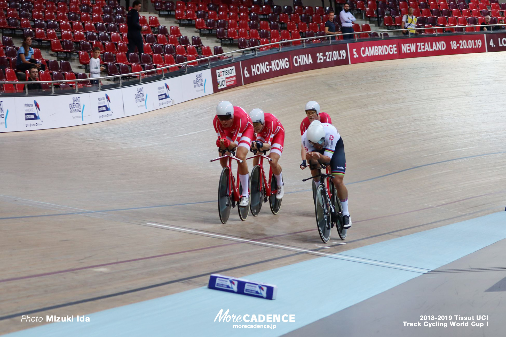 2018-2019 TRACK CYCLING WORLD CUP I Men's Team Pursuit