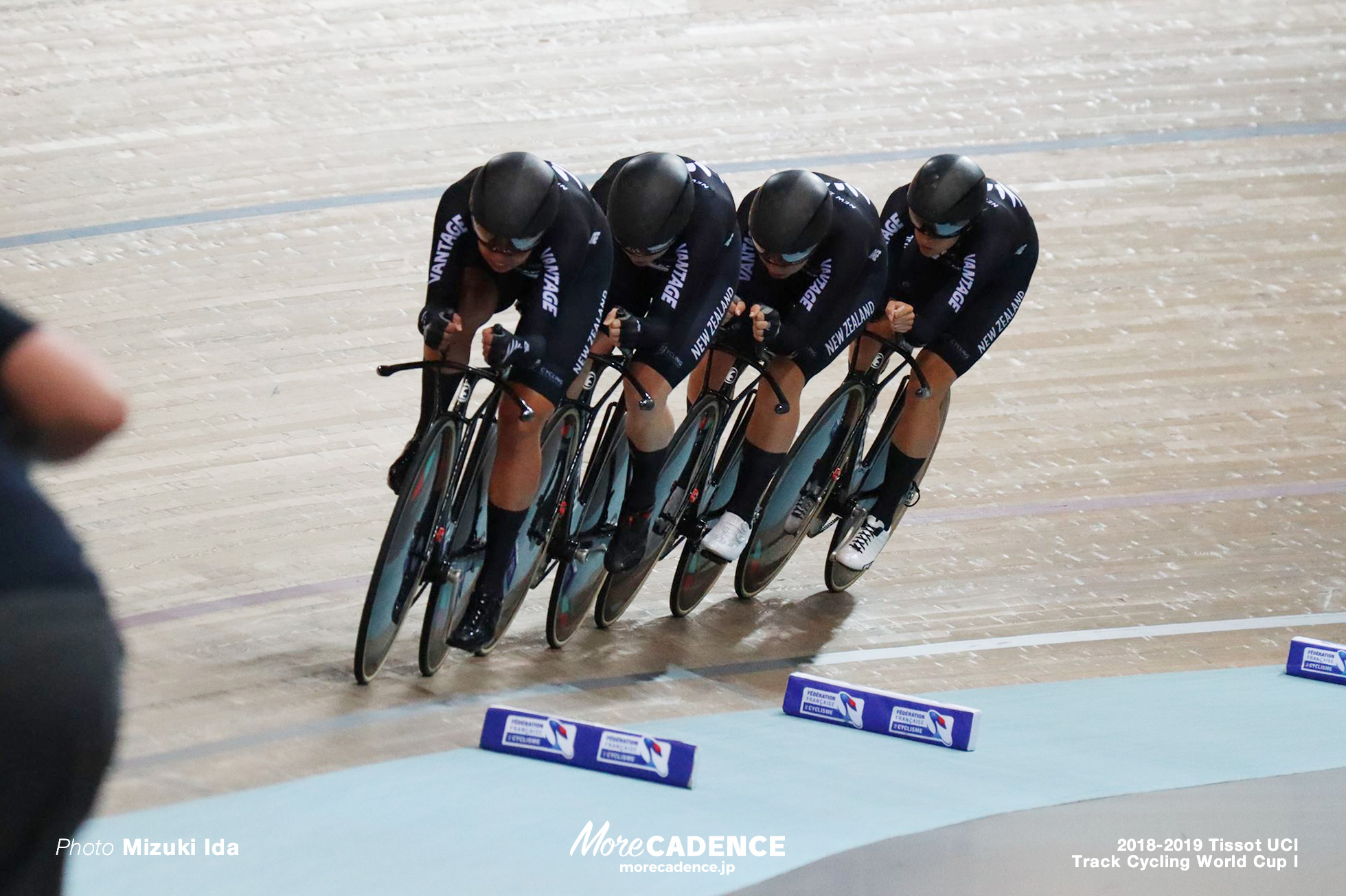 2018-2019 TRACK CYCLING WORLD CUP I Women's Team Pursuit