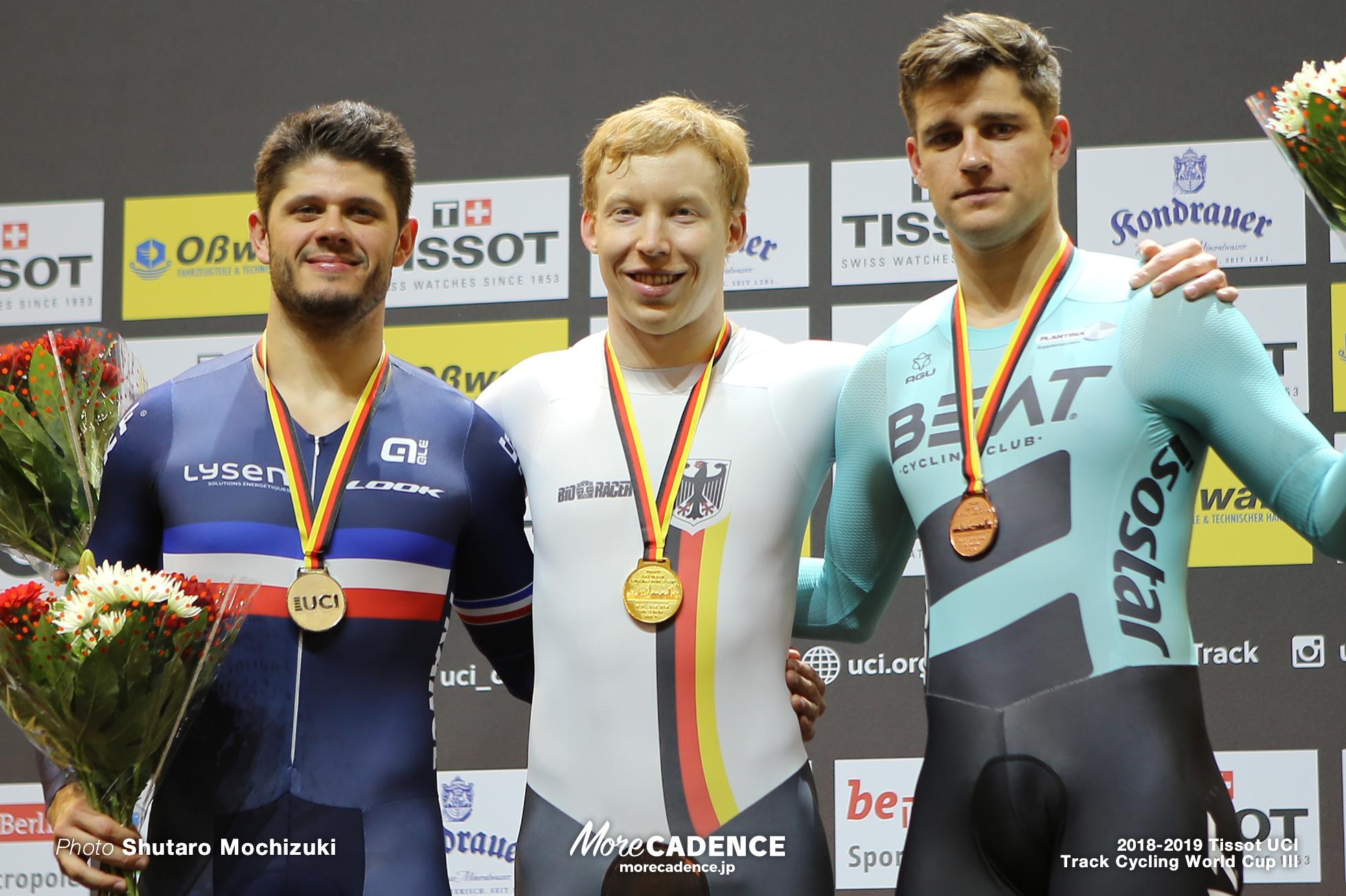 Men's 1kmTT/2018-2019 Track Cycling World Cup III Berlin