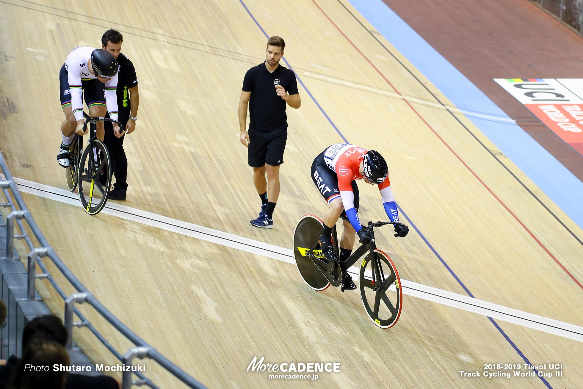Men'sa Sprint/Final/2018-2019 Track Cycling World Cup III Berlin