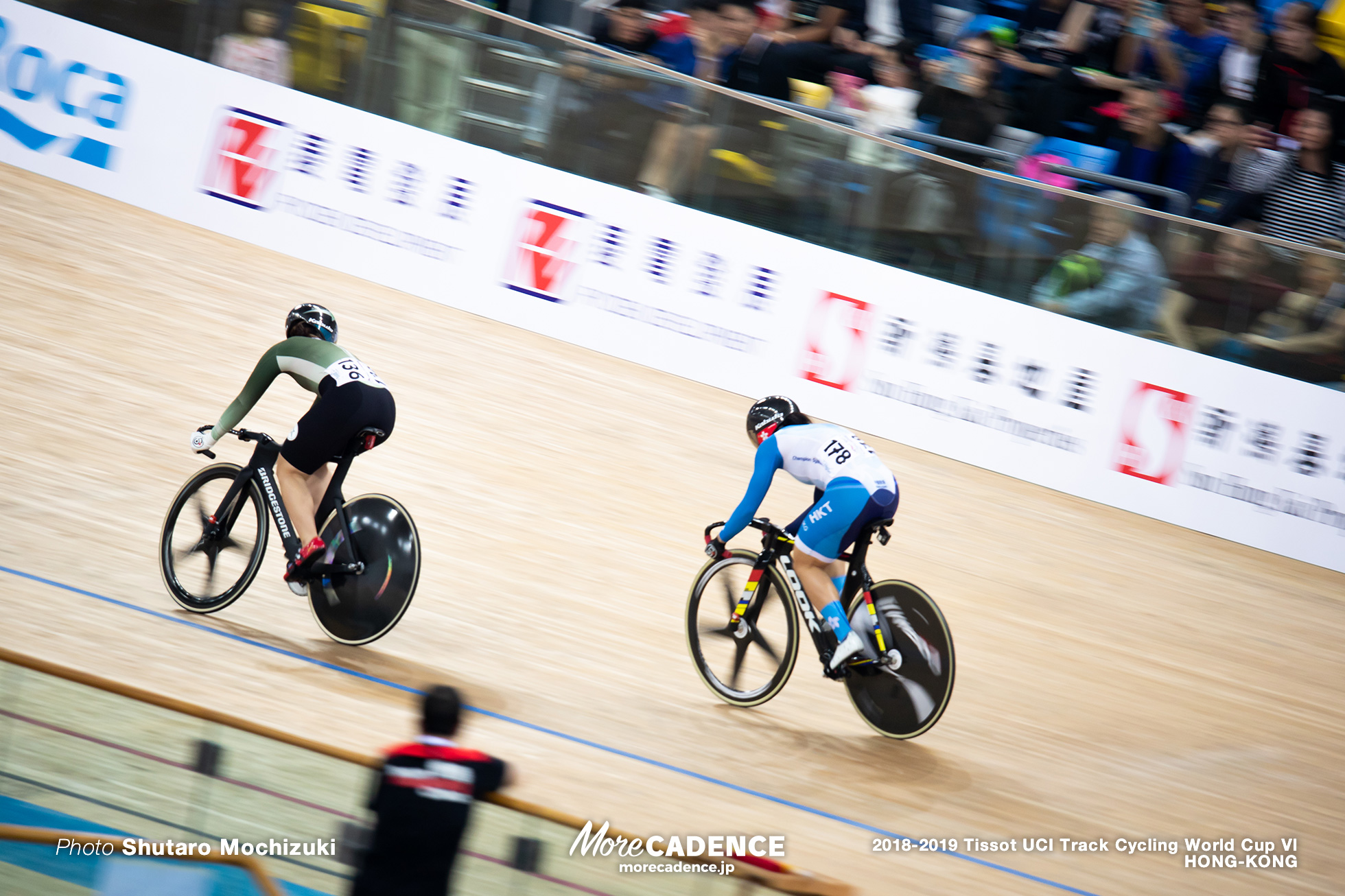 2nd Round / Women's Sprint / Track Cycling World Cup VI / Hong-Kong