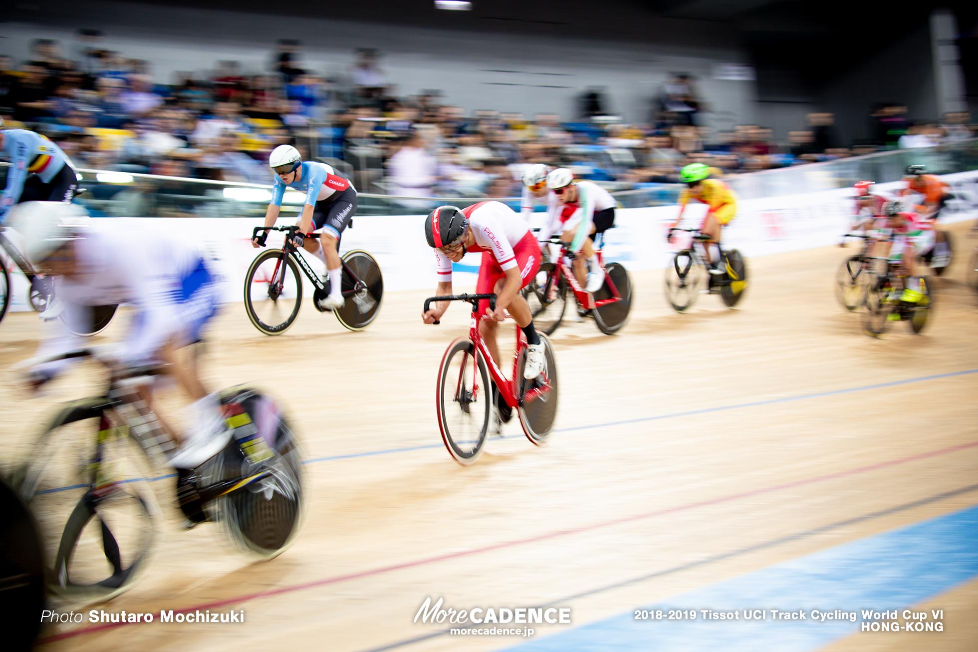 Tempo Race / Men's Omnium / Track Cycling World Cup VI / Hong-Kong