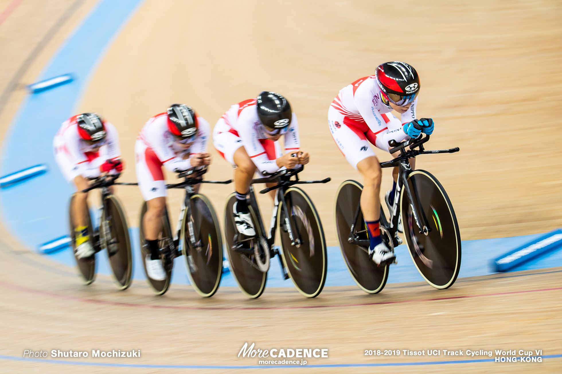 Qualifying / Women's Team Pursuit / Track Cycling World Cup VI / Hong-Kong