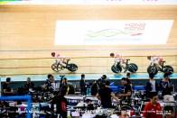 Qualifying / Men's Team Sprint / Track Cycling World Cup VI / Hong-Kong