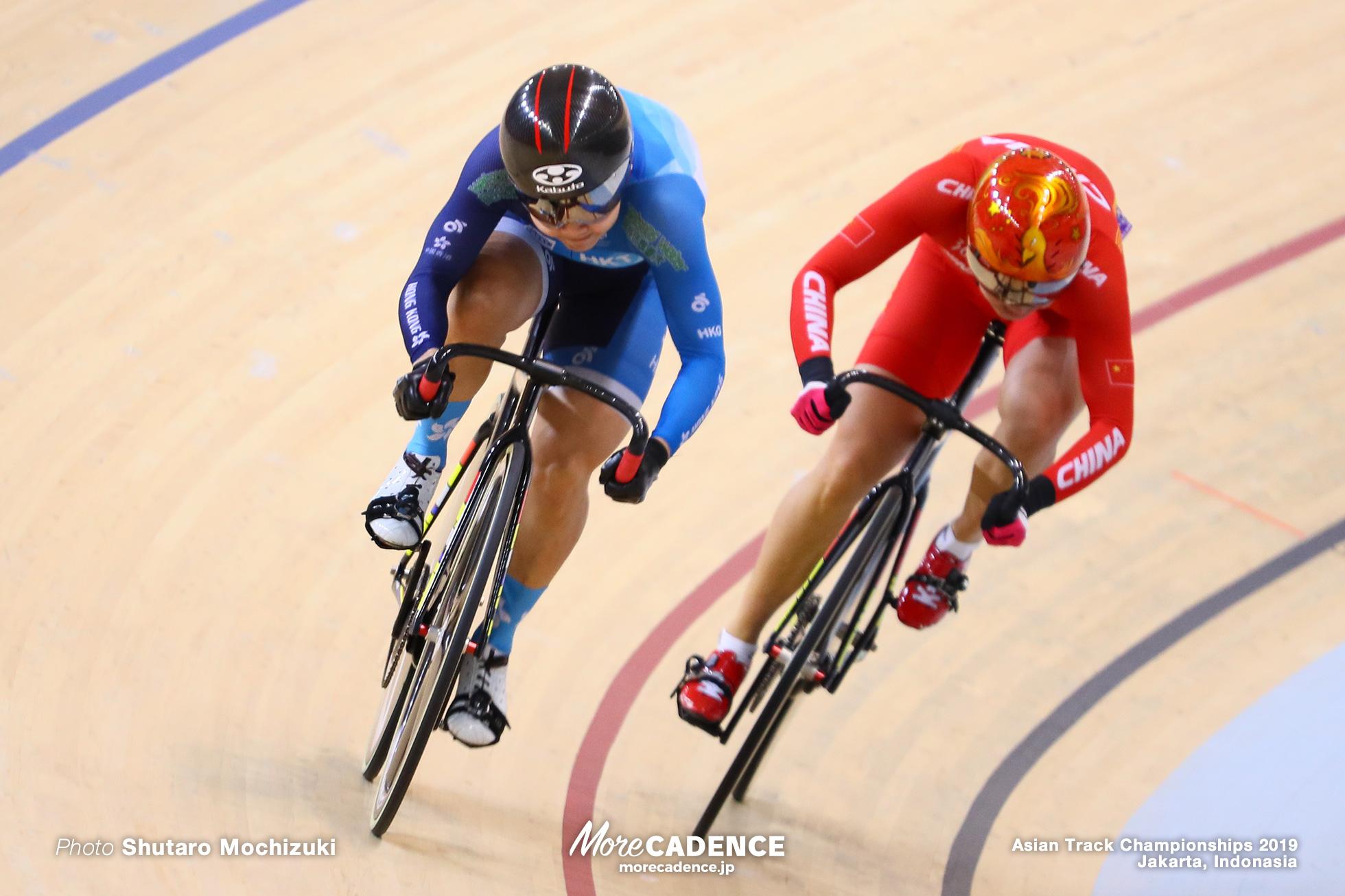 Final 2nd Round / Women's Elite Sprint / Asian Championships Track 2019 Jakarta