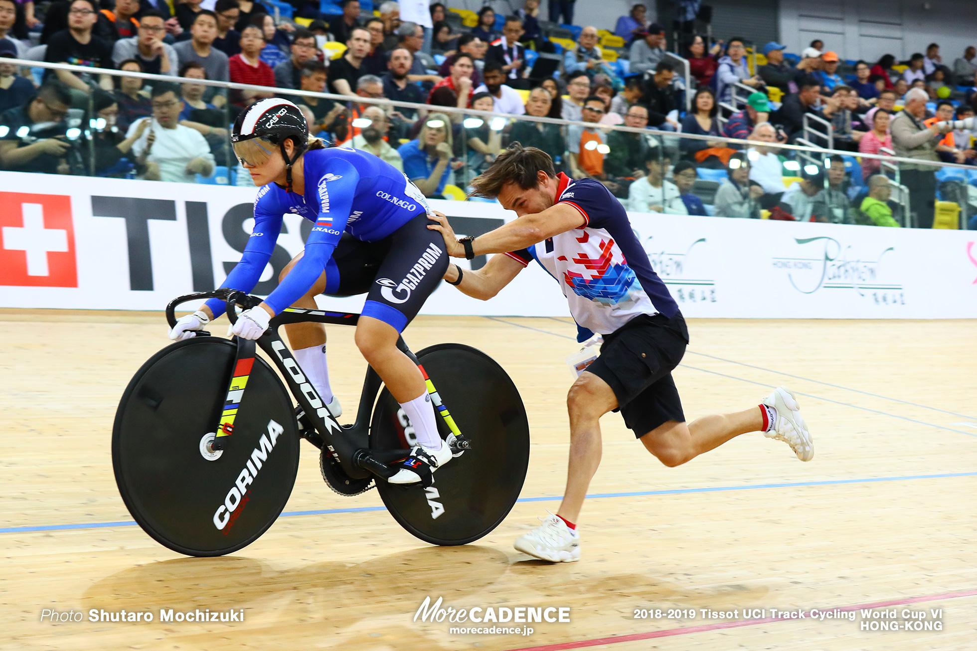 Qualifying / Women's Sprint / Track Cycling World Cup VI / Hong-Kong