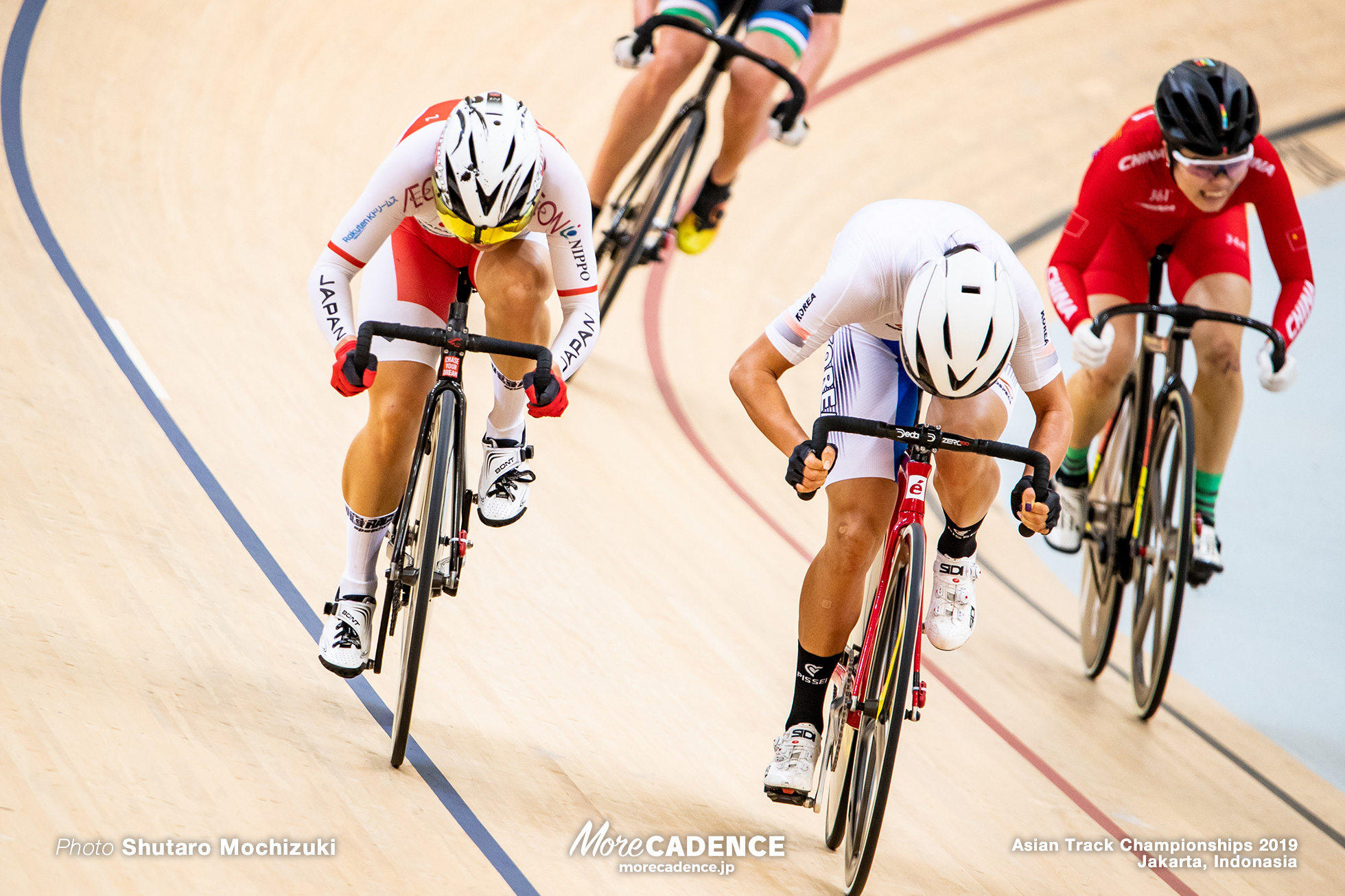 Women's Elite Madison / Asian Championships Track 2019 Jakarta