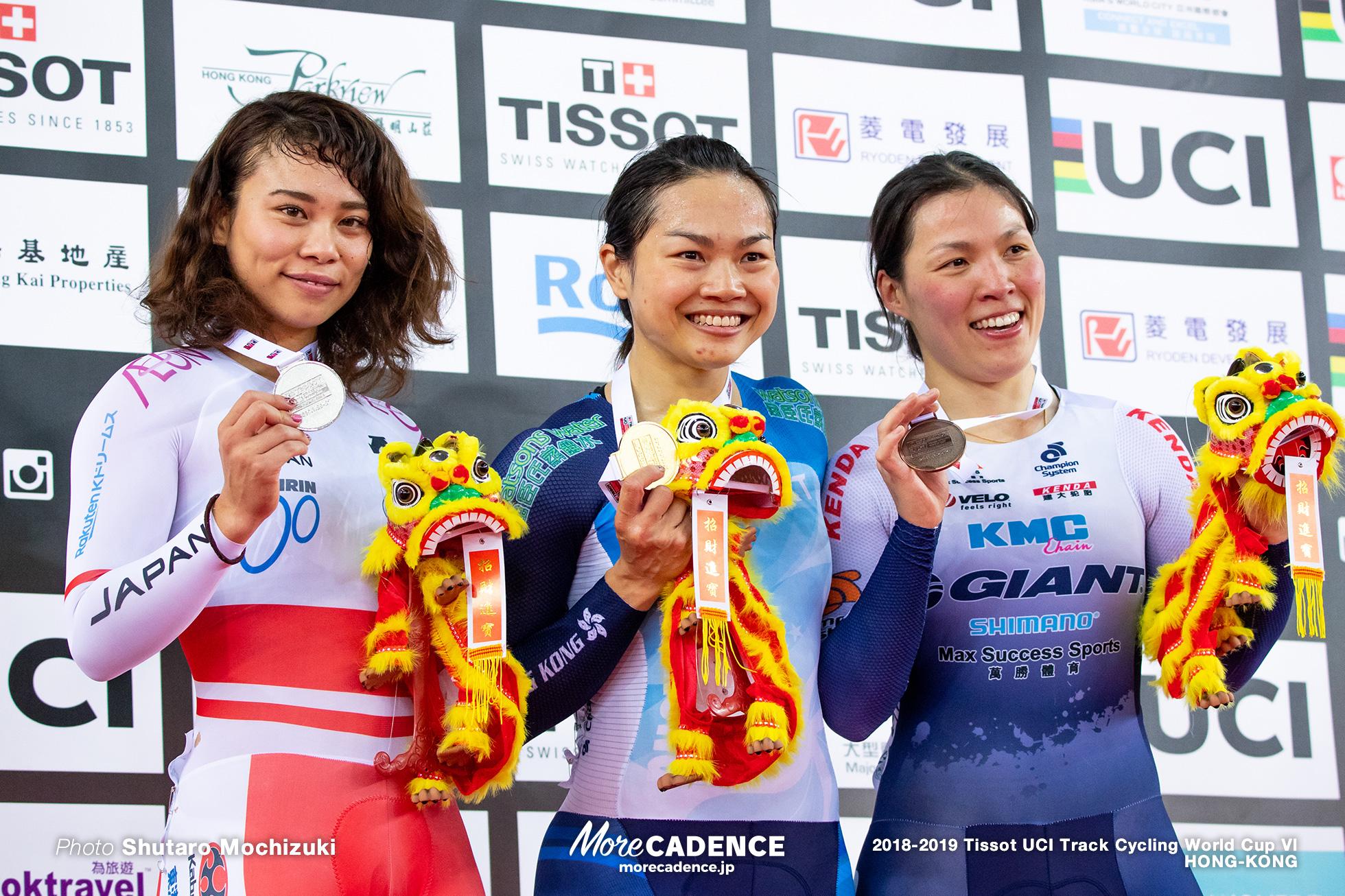 太田りゆ / Women's Keirin / Track Cycling World Cup VI / Hong-Kong