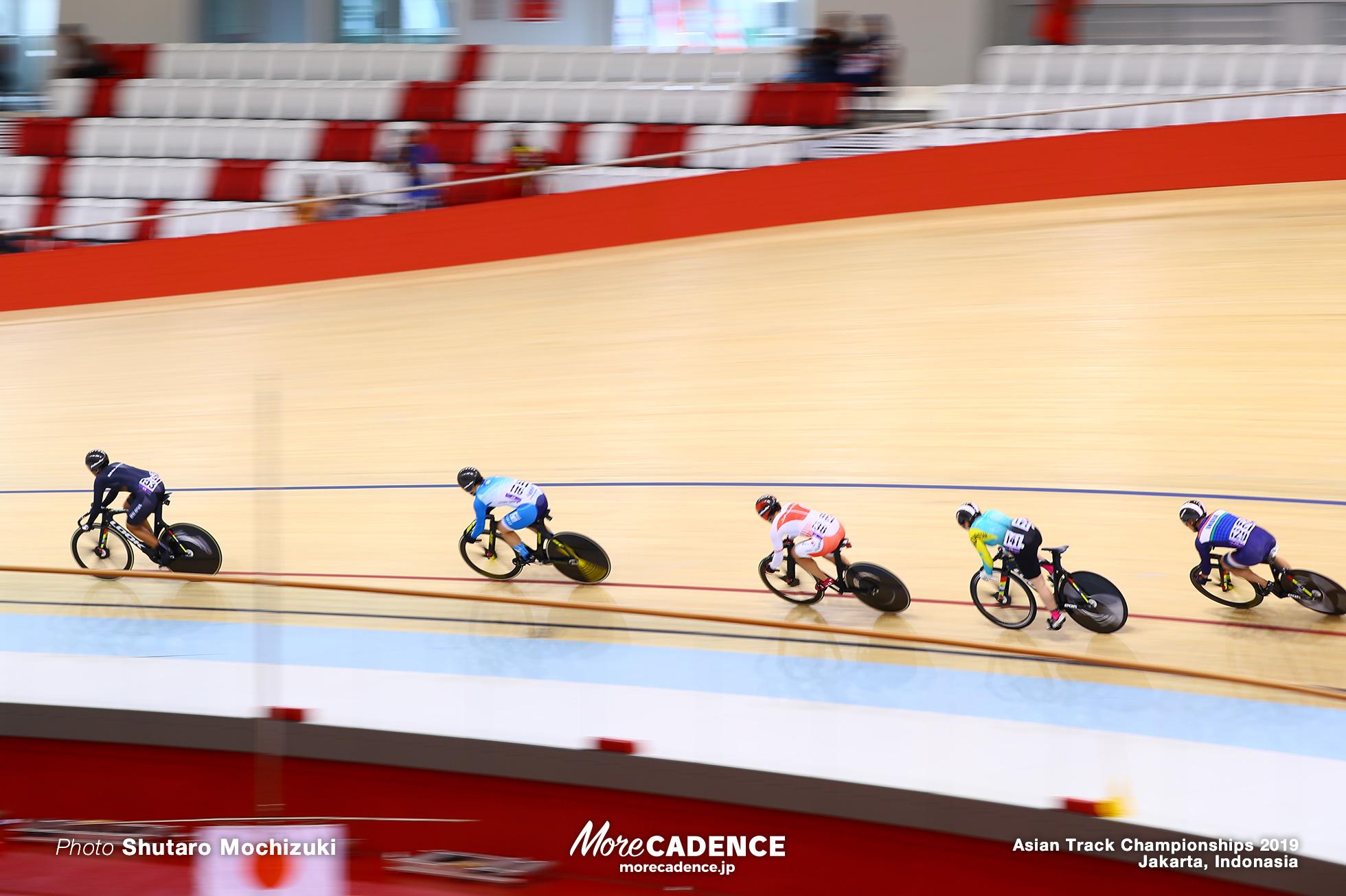 First Round Repechage / Women's Elite Keirin / Asian Championships Track 2019 Jakarta