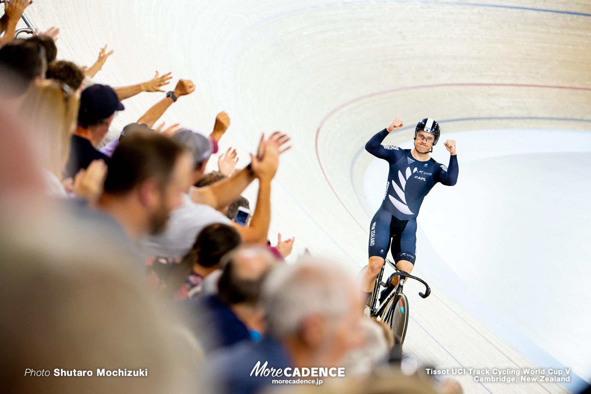 Final / Men's Team Sprint / Track Cycling World Cup V / Cambridge, New Zealand