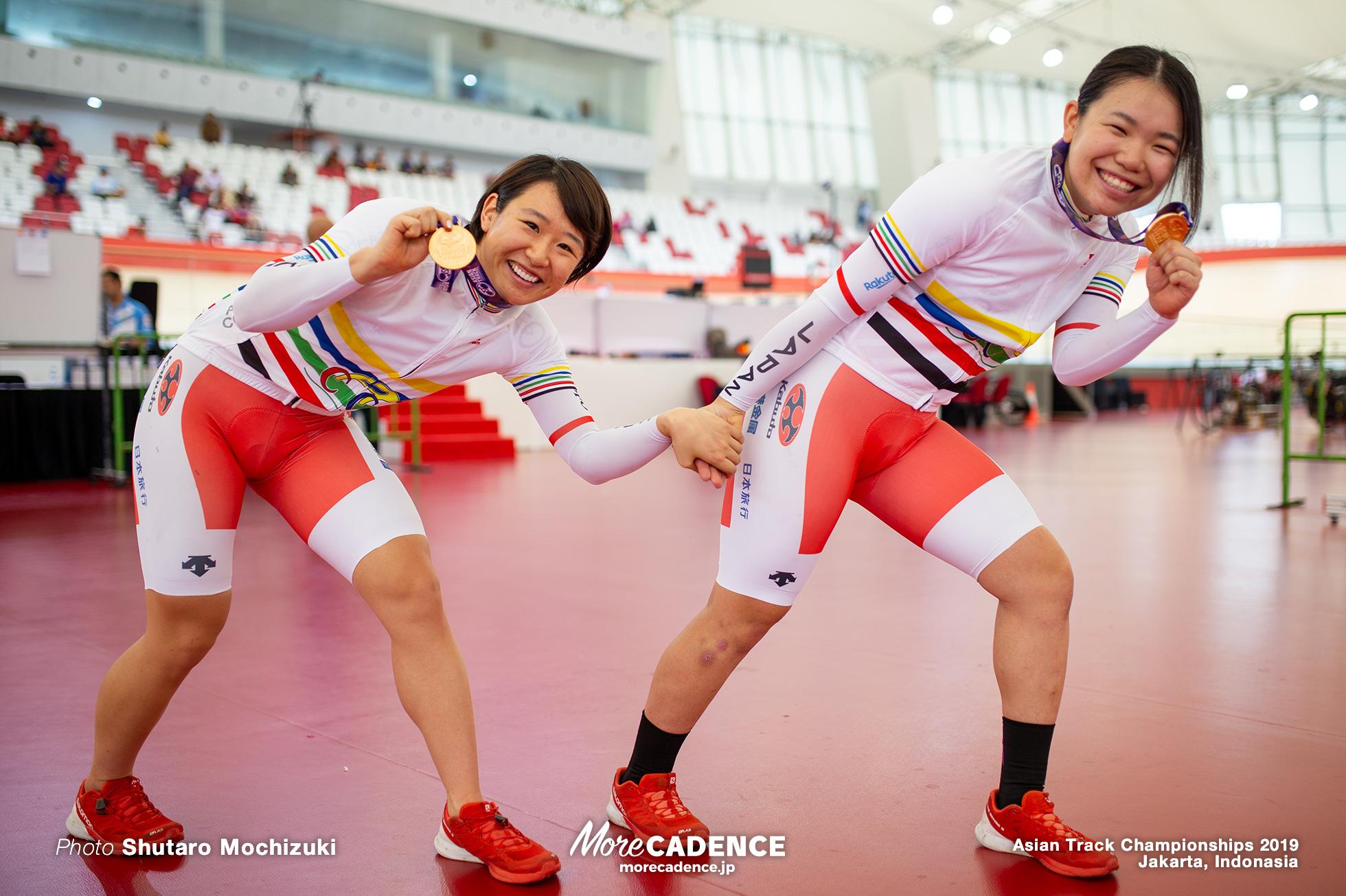 Women's Elite Madison / Asian Championships Track 2019 Jakarta