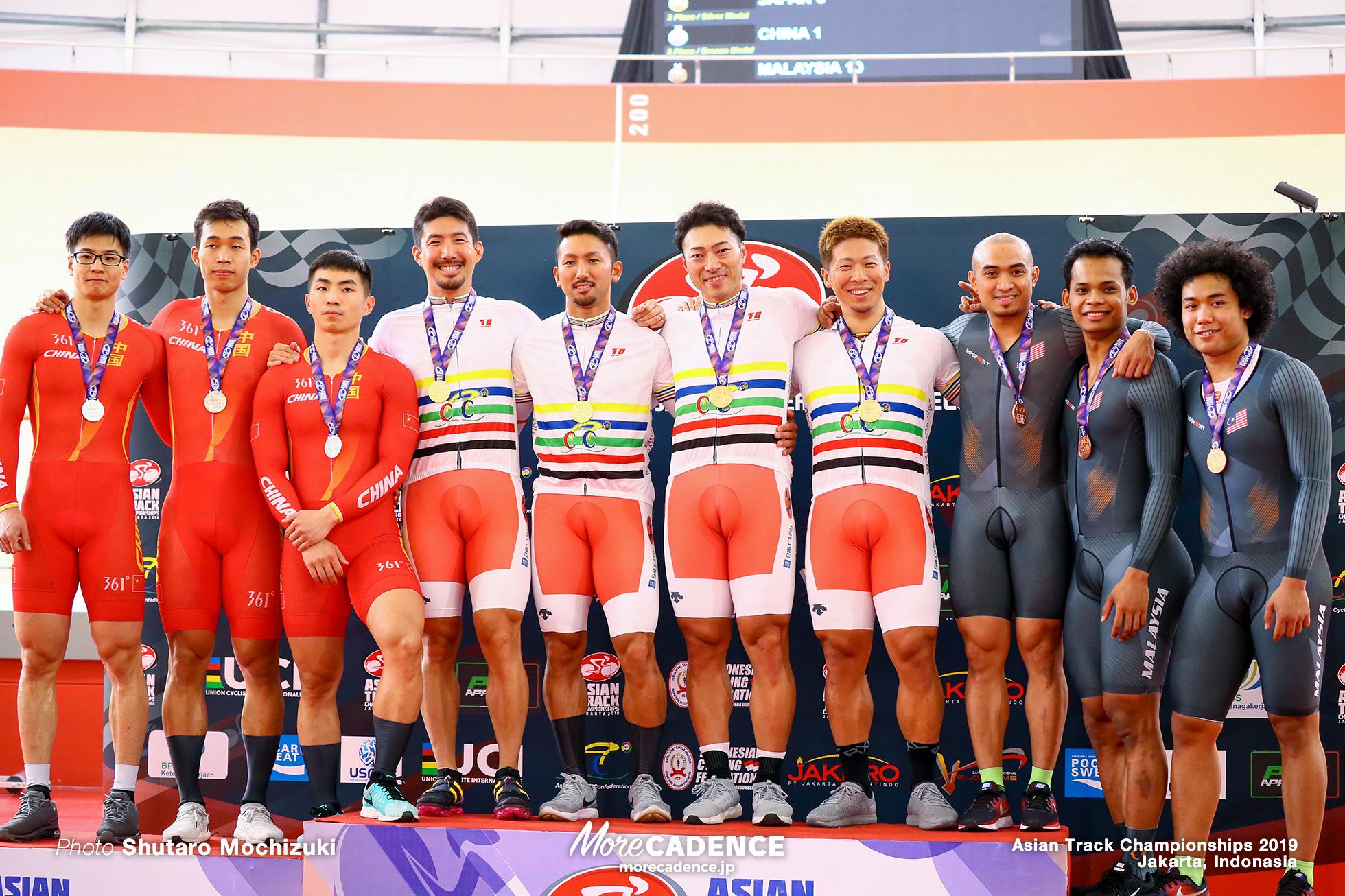Men's Elite Team Sprint / Asian Championships Track 2019 Jakarta