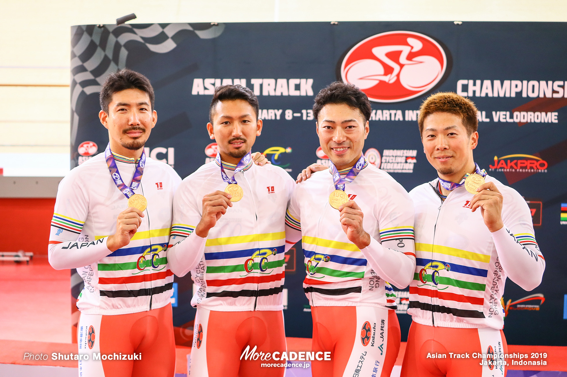 Men's Elite Team Sprint / Asian Championships Track 2019 Jakarta