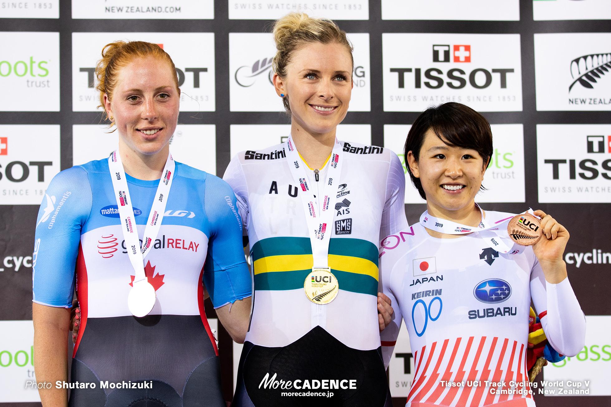 Women's Omnium / Track Cycling World Cup V / Cambridge, New Zealand