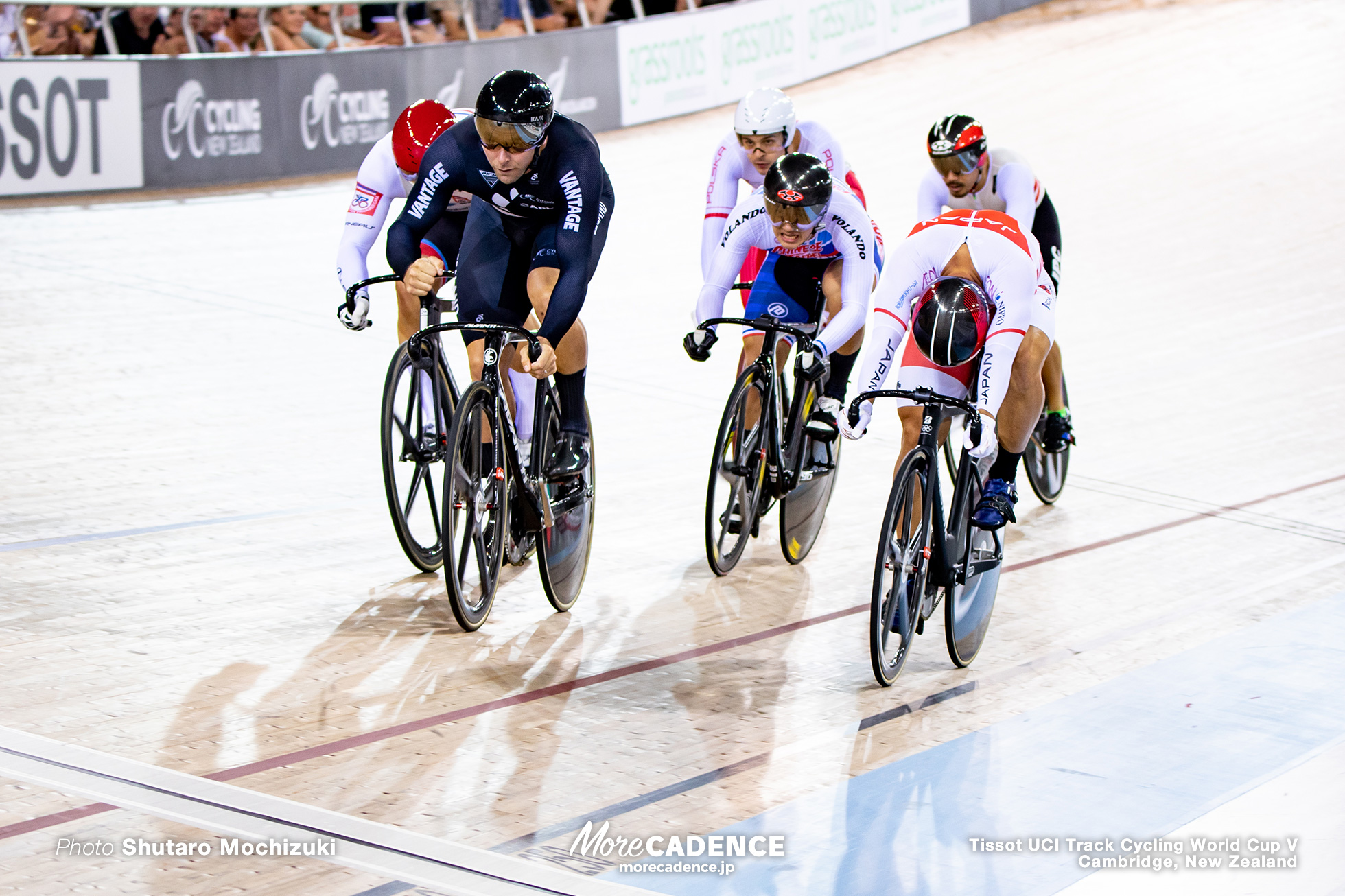 Semi Final / Men's Keirin / Track Cycling World Cup V / Cambridge, New Zealand