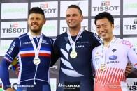 Men's Keirin / Track Cycling World Cup V / Cambridge, New Zealand