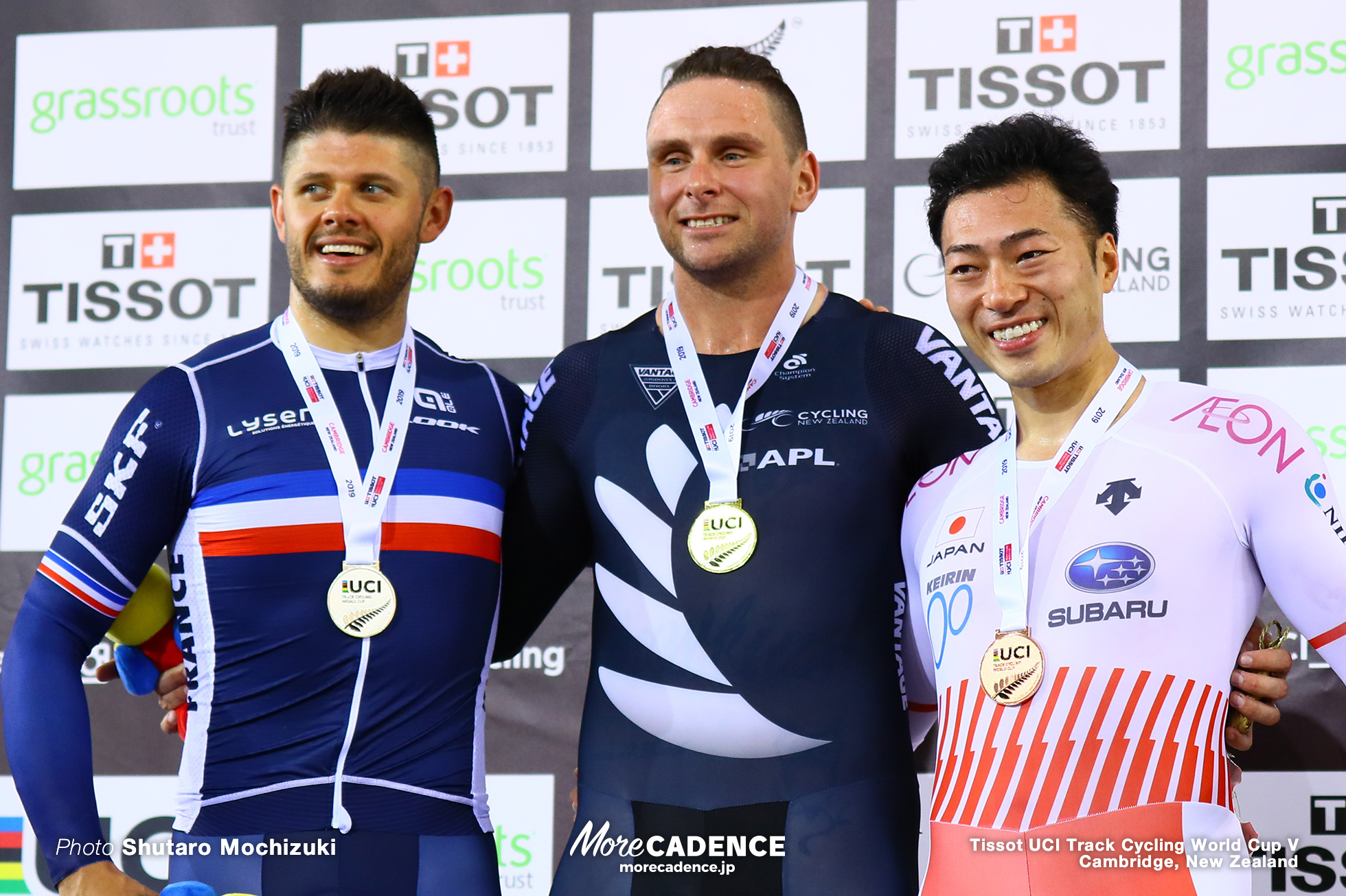 Men's Keirin / Track Cycling World Cup V / Cambridge, New Zealand