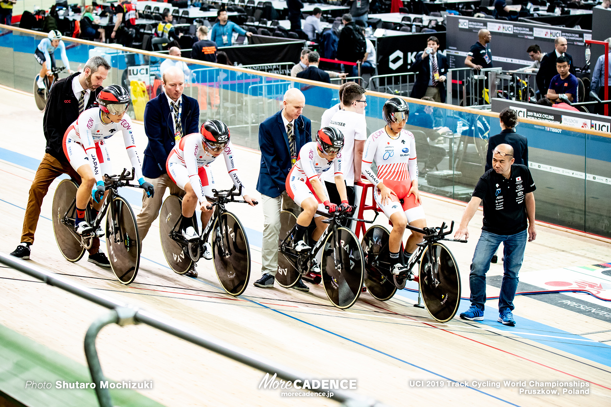 Women's Team Pursuit / 2019 Track Cycling World Championships Pruszków, Poland