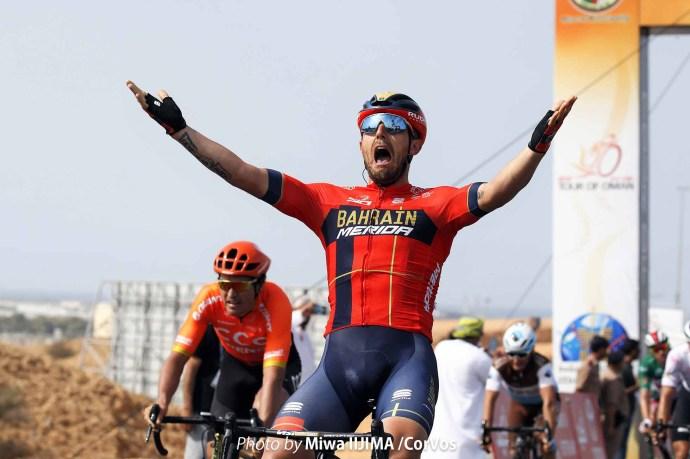 ステージ優勝したソンニ・コロブレッリ