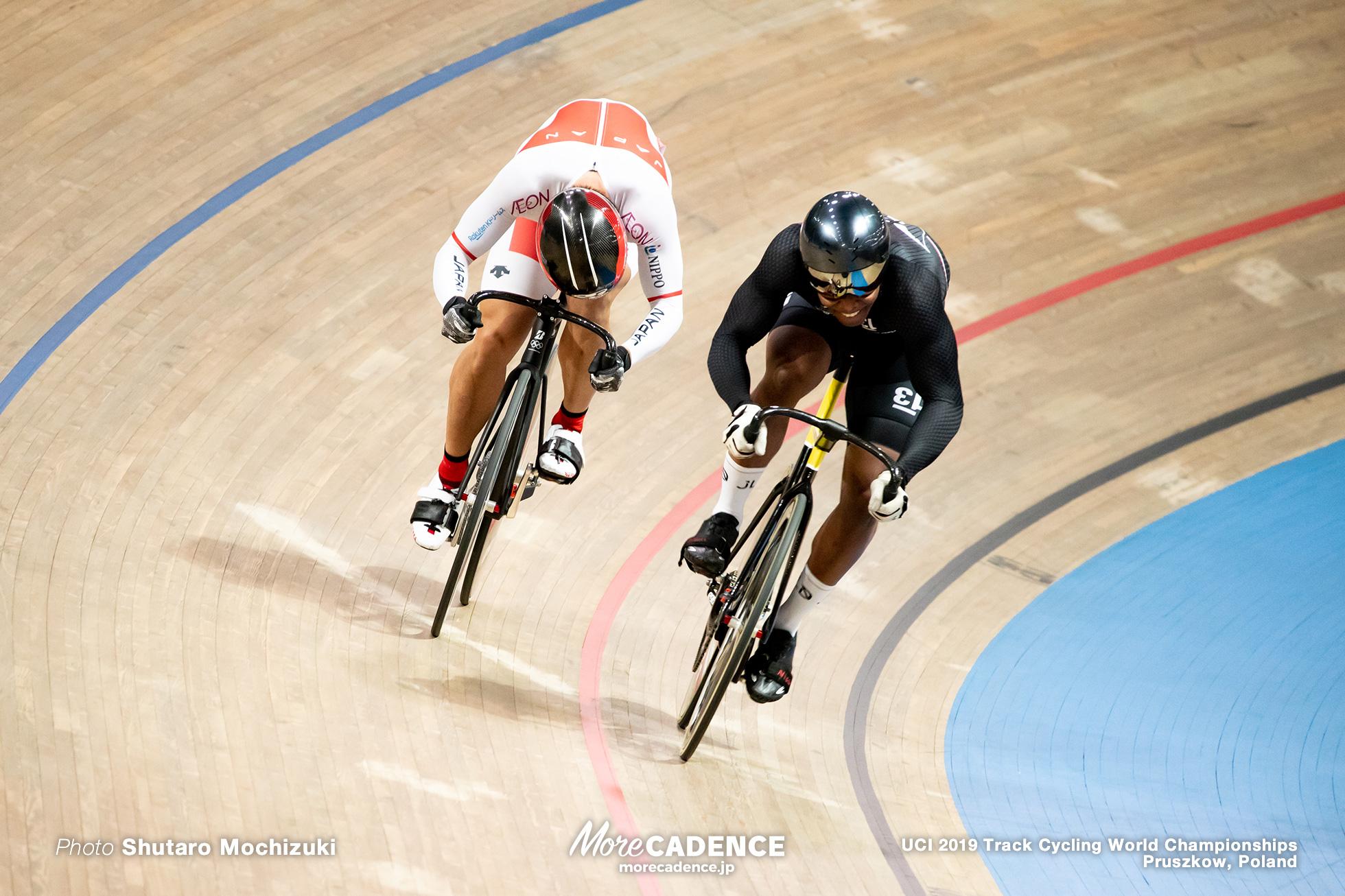Men's Sprint 1/16 Final / 2019 Track Cycling World Championships Pruszków, Poland