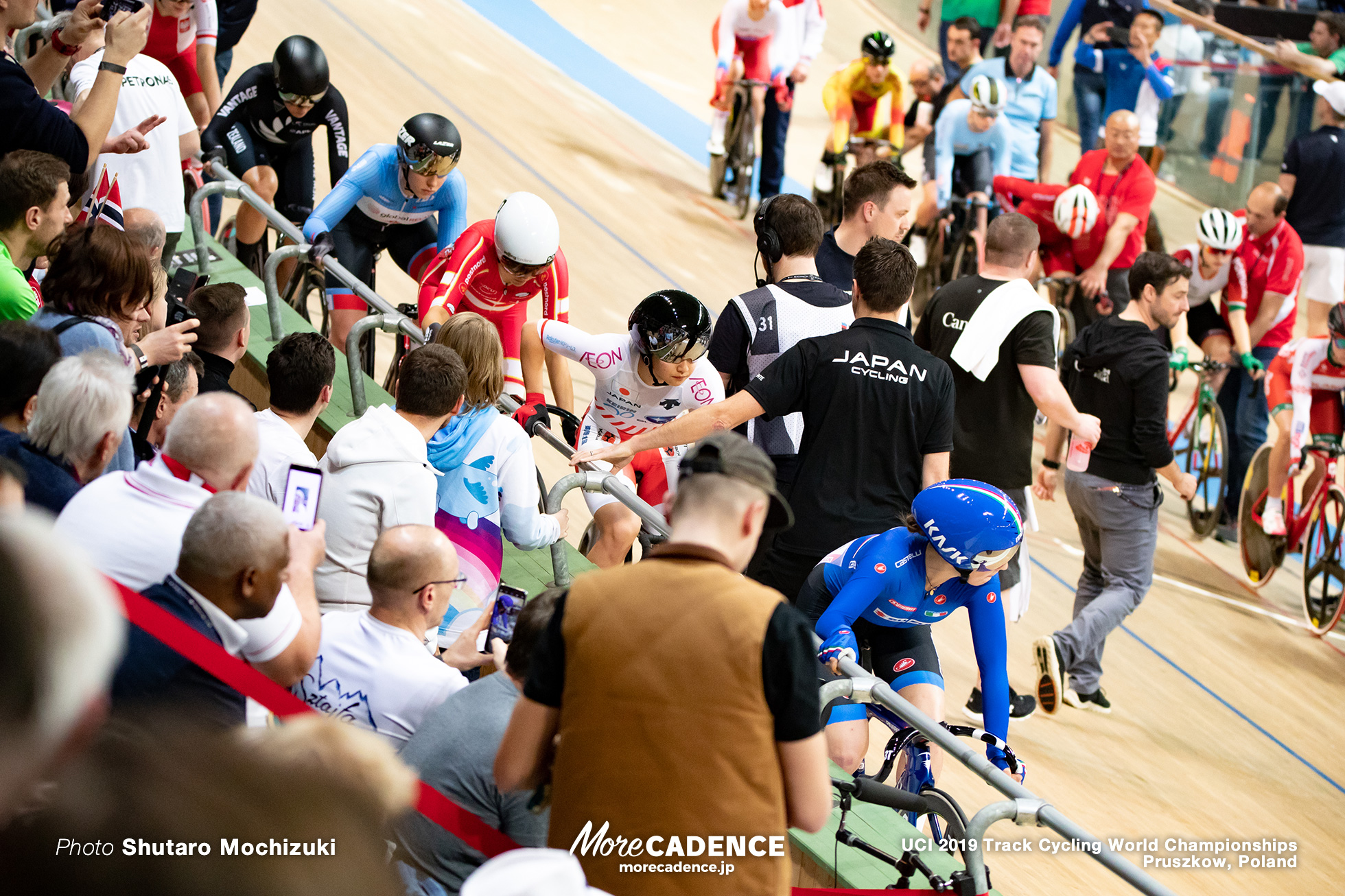 Women's Omnium Point Race / 2019 Track Cycling World Championships Pruszków, Poland