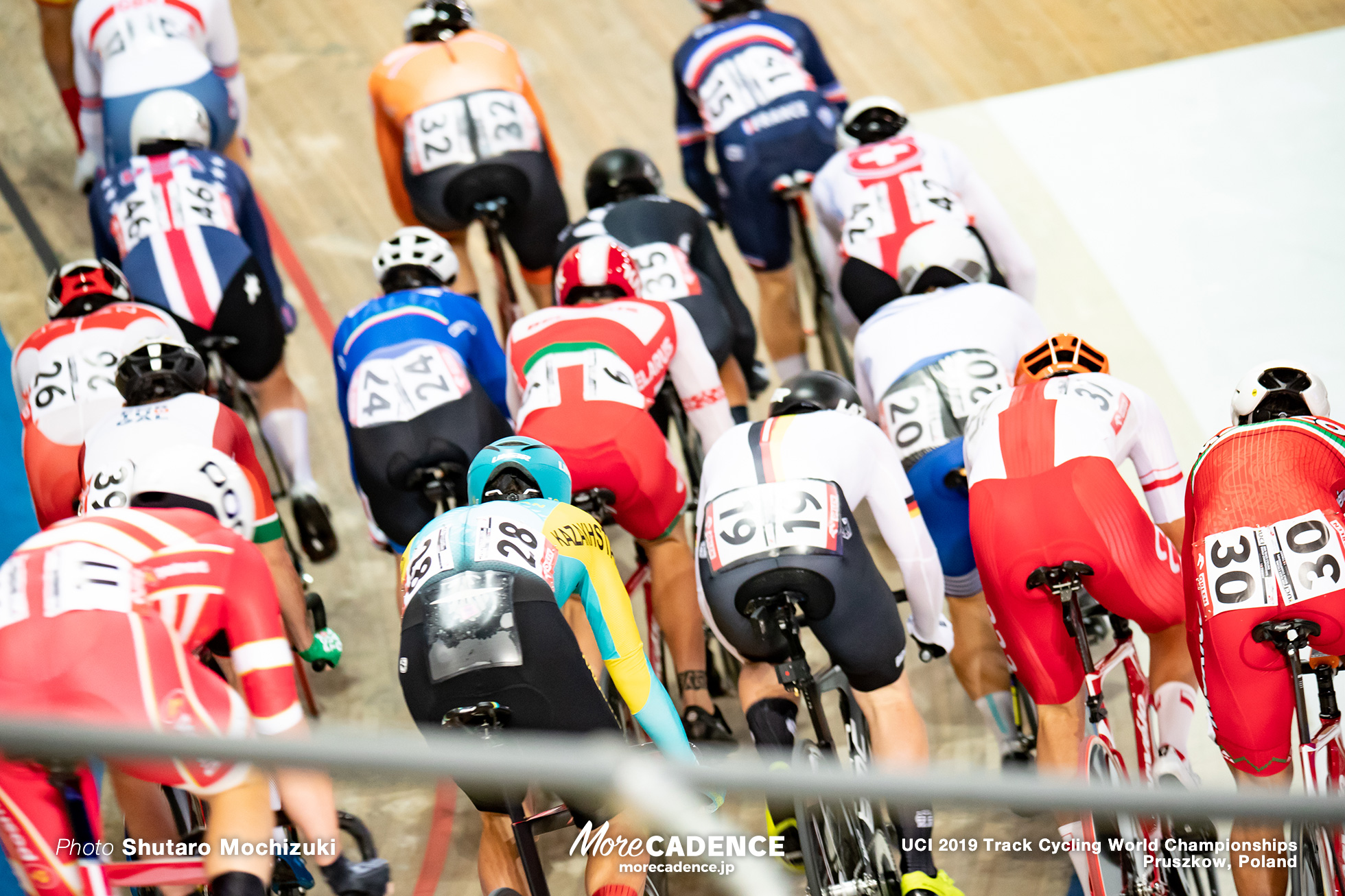 Men's Omnium Elimination / 2019 Track Cycling World Championships Pruszków, Poland