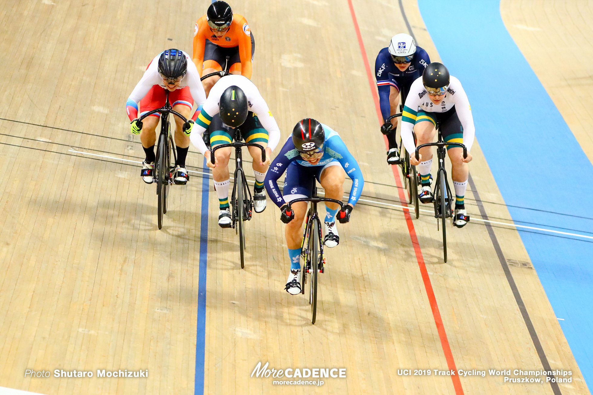 Women's Keirin Final / 2019 Track Cycling World Championships Pruszków, Poland