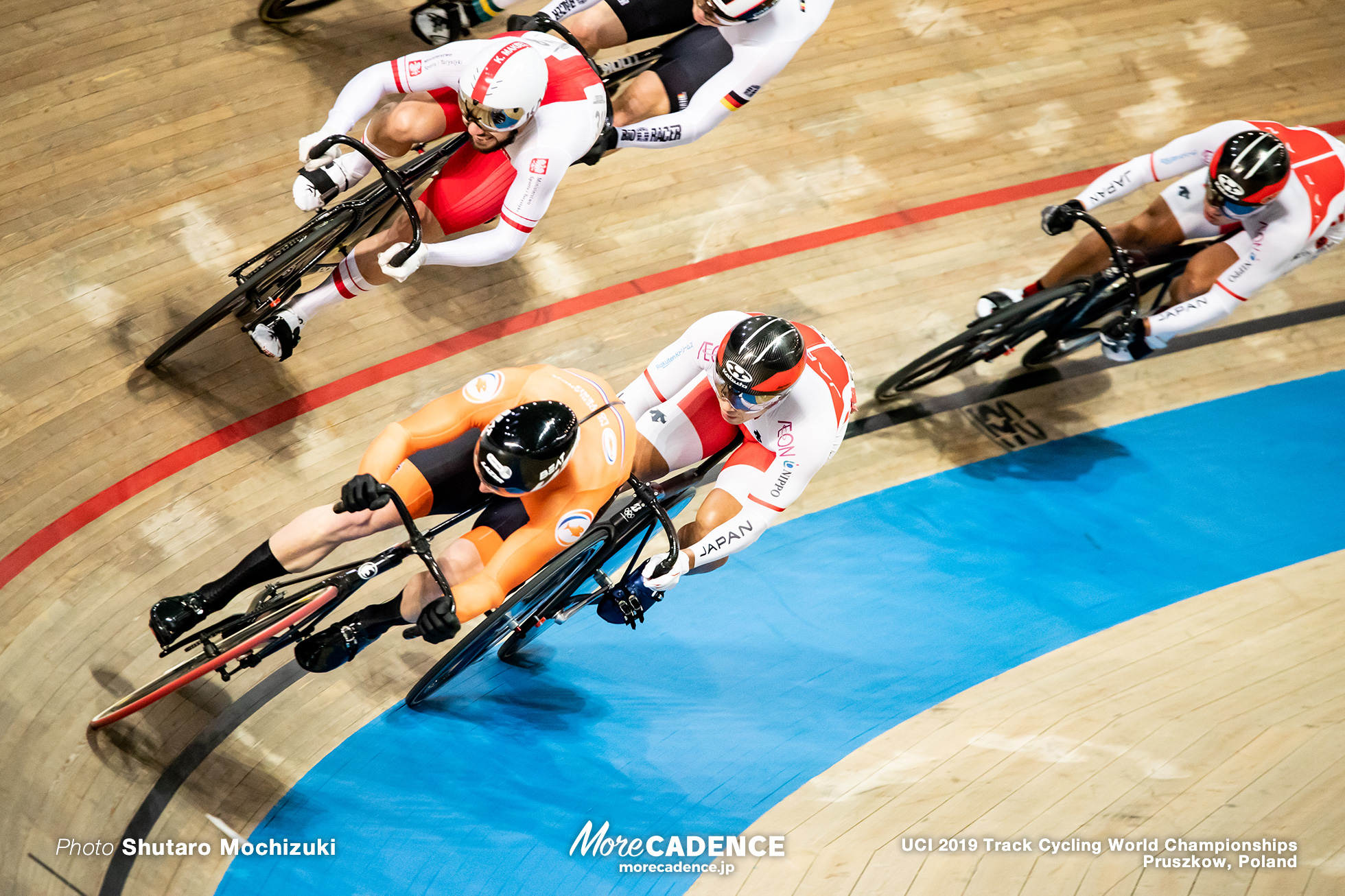 Men's Keirin 2nd Round / 2019 Track Cycling World Championships Pruszków, Poland