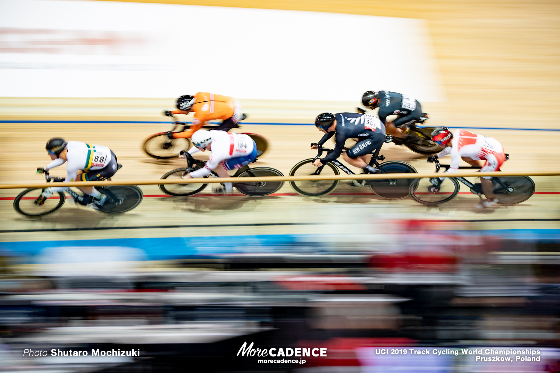 Men's Keirin Semi Final / 2019 Track Cycling World Championships Pruszków, Poland