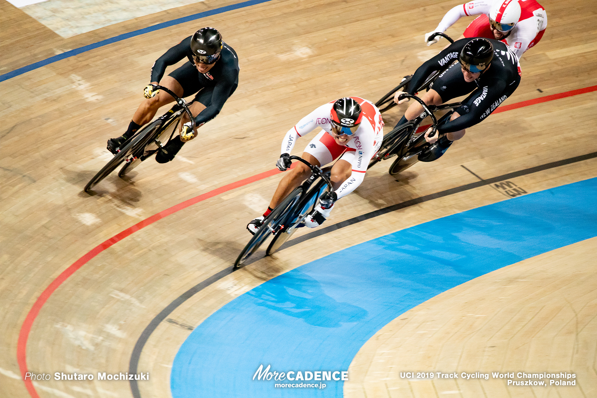 Men's Keirin Final 7-12 / 2019 Track Cycling World Championships Pruszków, Poland