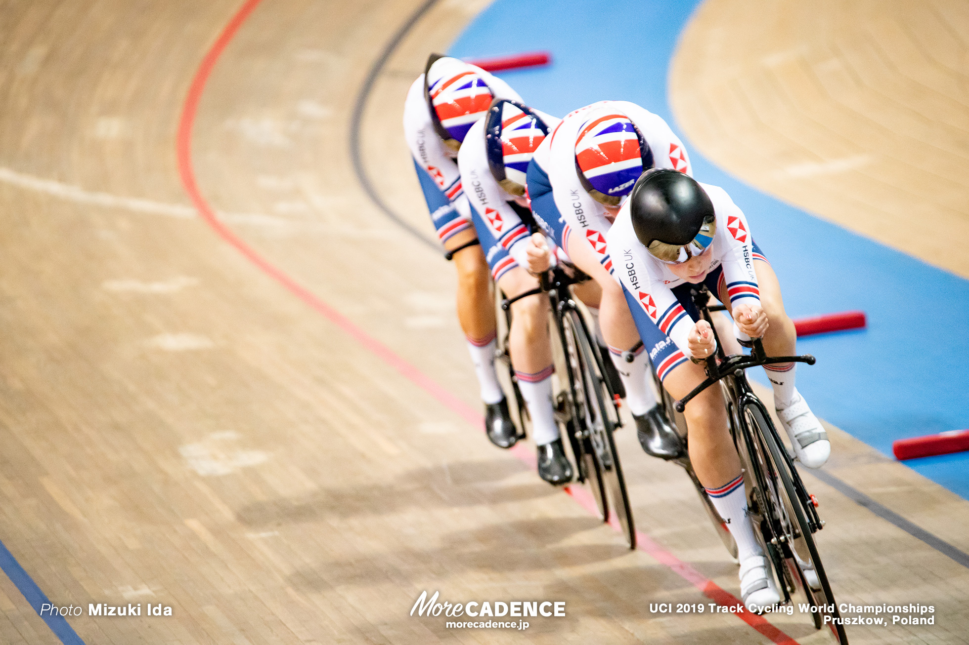 Women's Team Pursuit Final / 2019 Track Cycling World Championships Pruszków, Poland