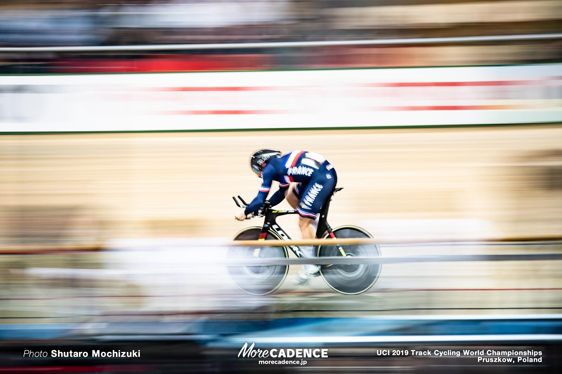 Men's 1km TT Qualifying / 2019 Track Cycling World Championships Pruszków, Poland