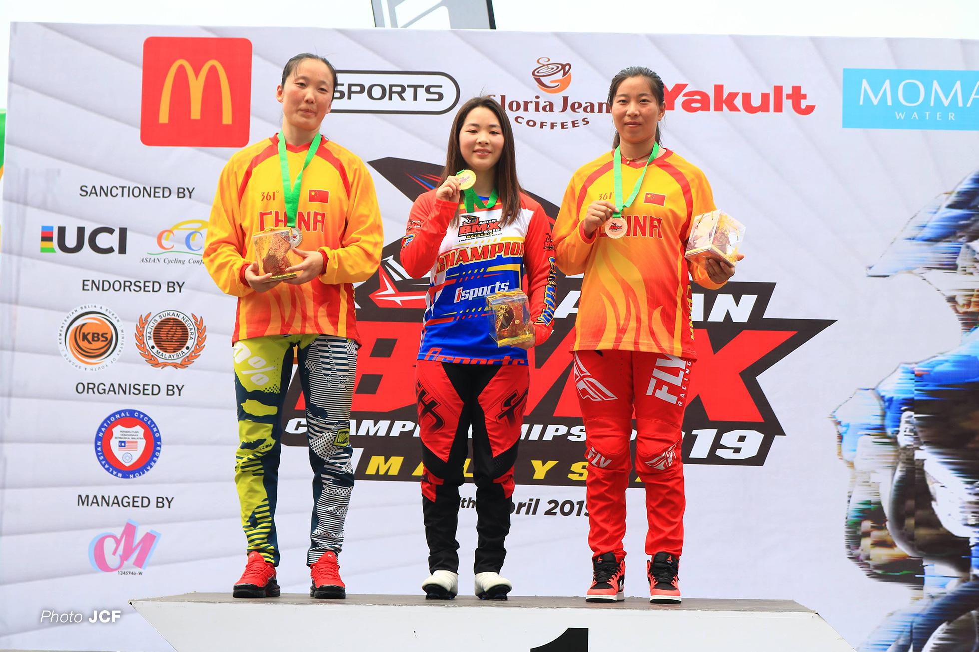 女子エリート・2019年アジアBMX選手権大会