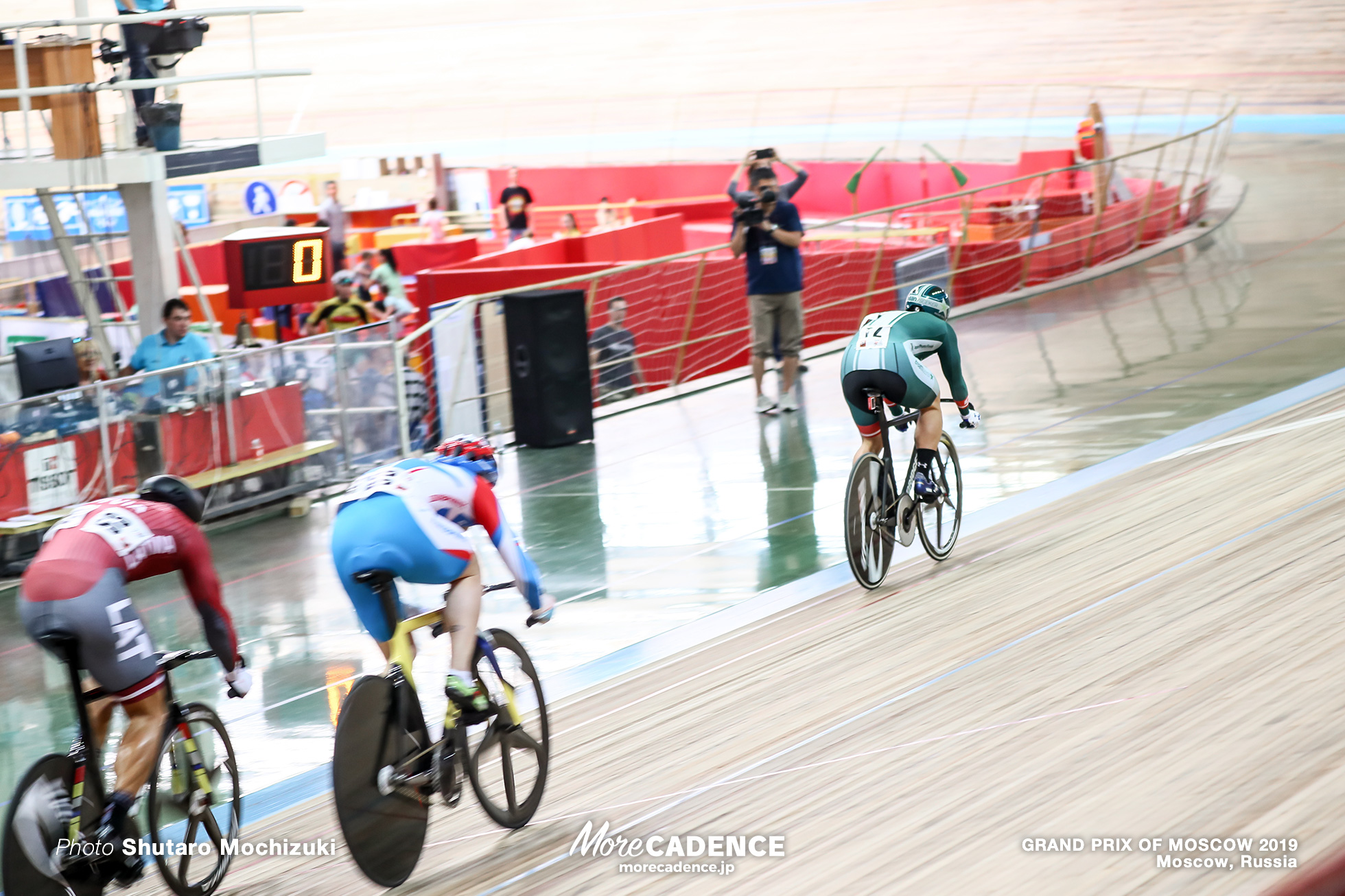 1st Round / Men's Keirin / GRAND PRIX OF MOSCOW 2019
