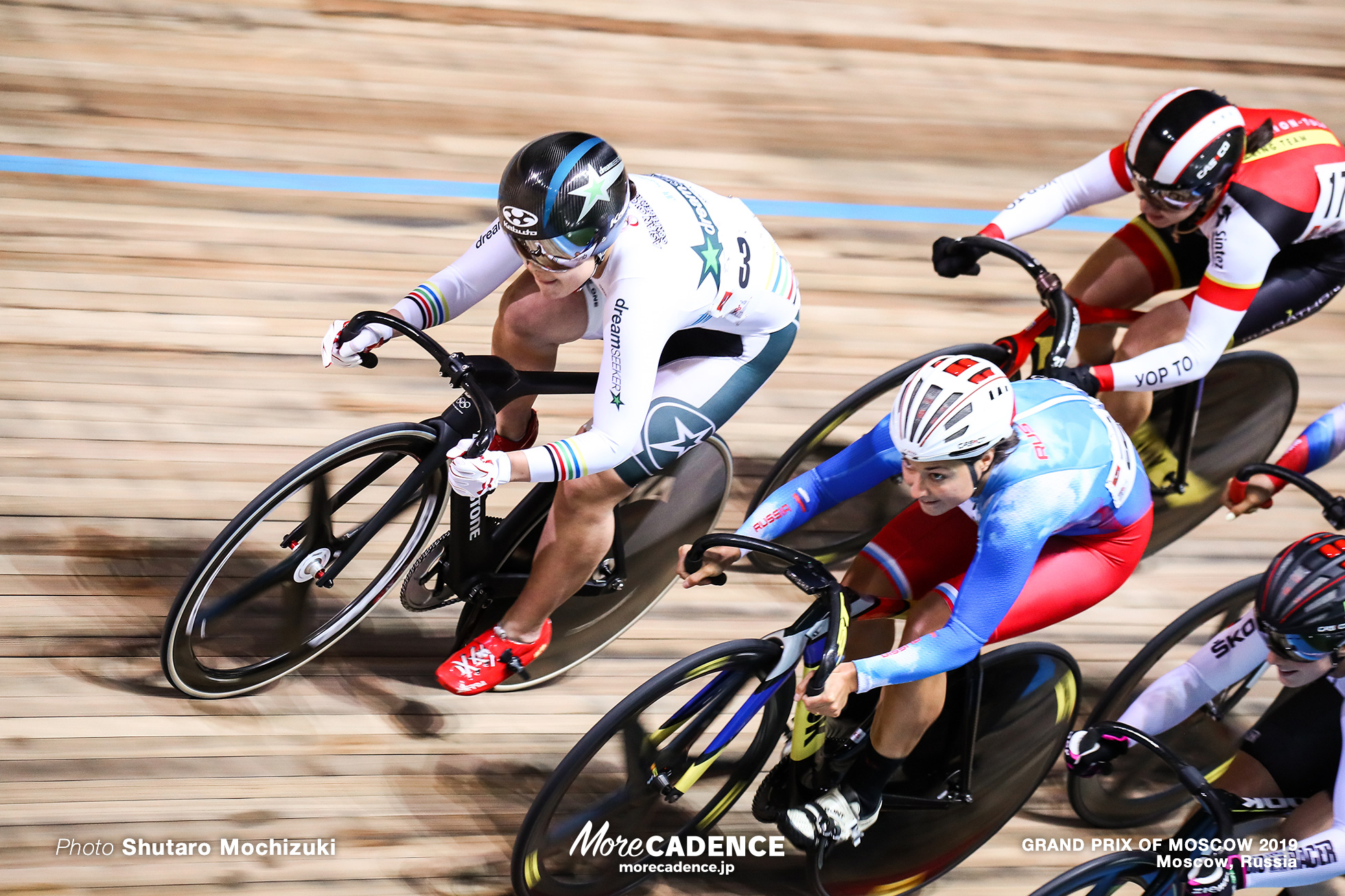 2nd Round / Women's Keirin / GRAND PRIX OF MOSCOW 2019