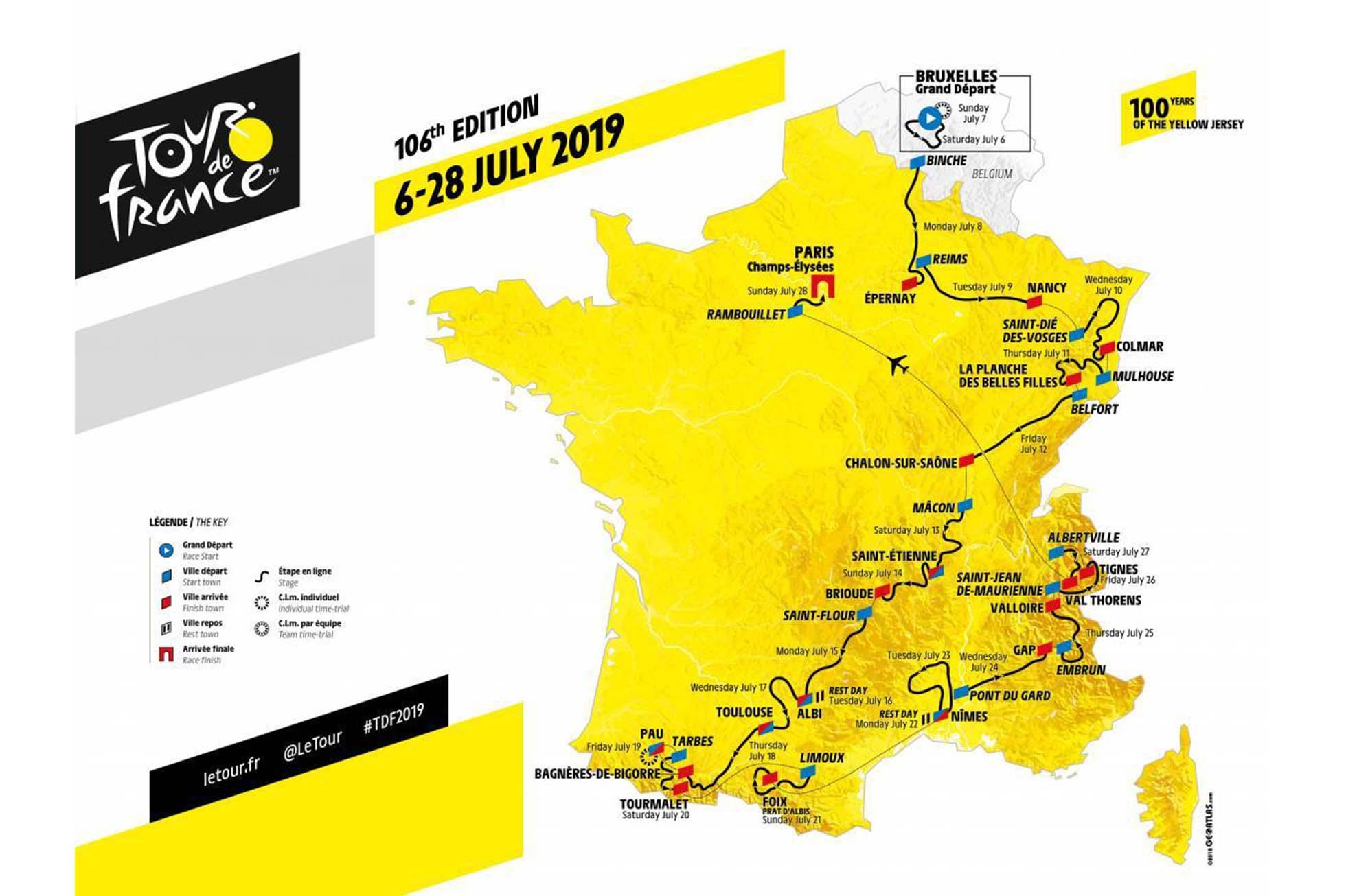 ツール・ド・フランス2019