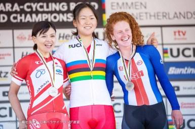 杉浦佳子がロード銀 2つ目のメダル獲得/2019 UCI パラサイクリング ロード世界選手権