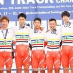 オリンピック出場へ大きな一歩、男子チームパシュート優勝/アジア選手権トラック2020
