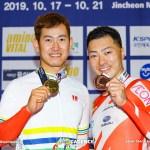 【詳報】男子ケイリン、勝って当然…プレッシャーはねのけ脇本雄太が掴んだ勝利/アジア選手権トラック2020