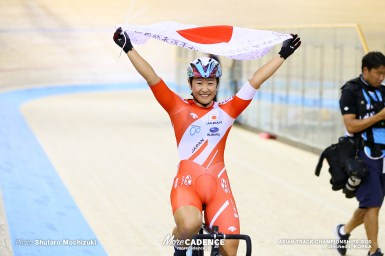 【速報】日本の梶原悠未が圧勝の金、4連覇を達成/女子オムニアム・アジア選手権トラック2020