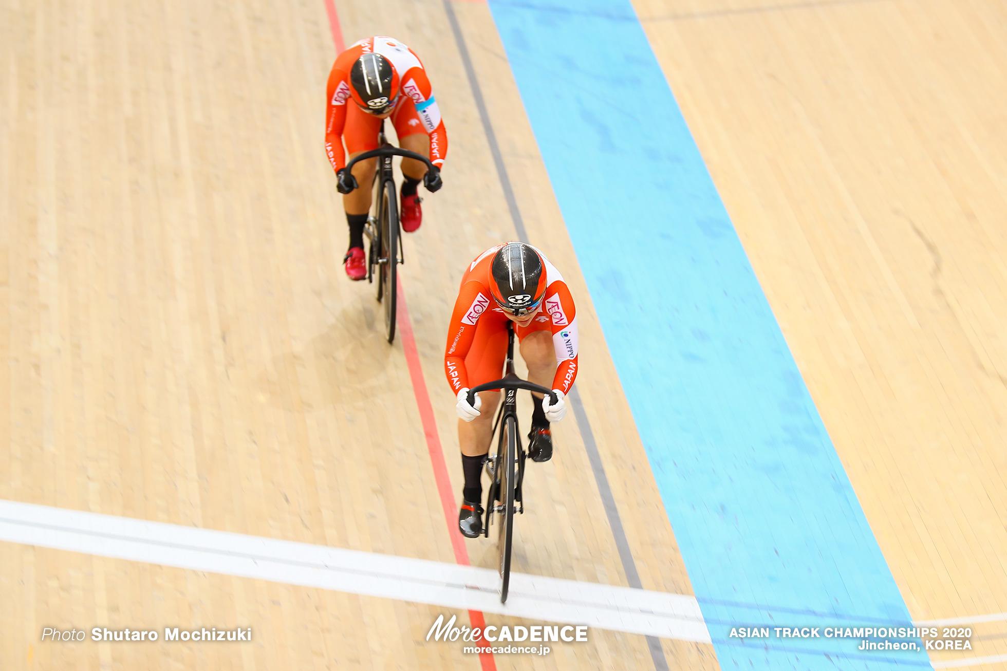 Final for Bronze / Women Sprint / ASIAN TRACK CHAMPIONSHIPS 2020