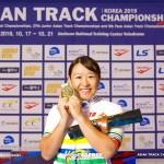 【詳報】女子オムニアム4連覇、梶原悠未が世界トップの座を見据える・アジア選手権トラック2020