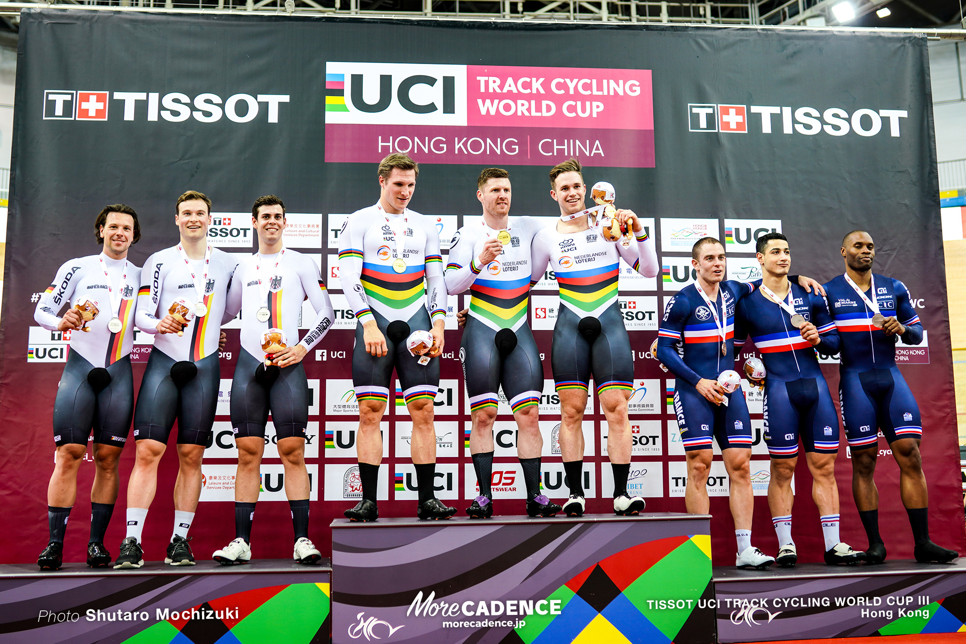 Final / Men's Team Sprint / TISSOT UCI TRACK CYCLING WORLD CUP III, Hong Kong