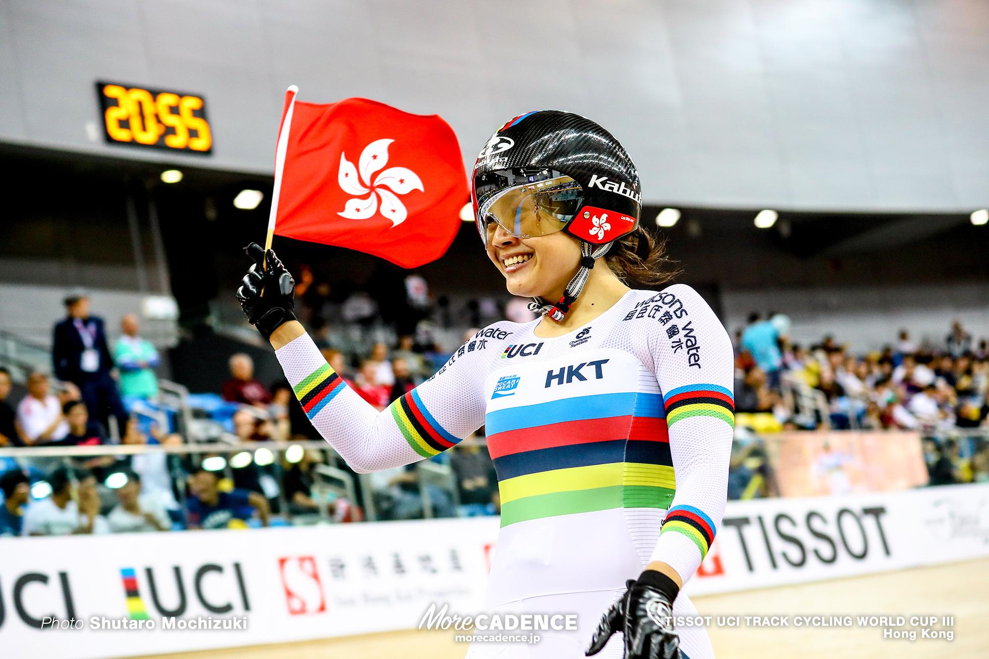 Final / Women's Sprint / TISSOT UCI TRACK CYCLING WORLD CUP III, Hong Kong, LEE Wai Sze リー・ワイジー 李慧詩